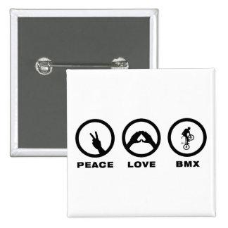 Freestyle BMX 15 Cm Square Badge