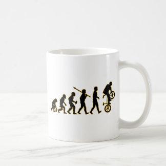 Freestyle BMX Basic White Mug