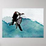 Freestyle BMX Bicycle Stunt