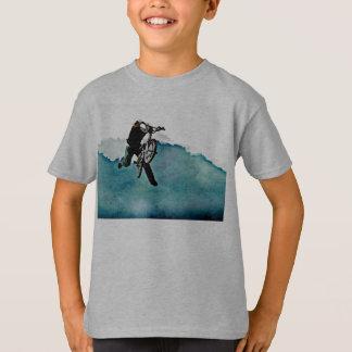 Freestyle BMX Bicycle Stunt T-Shirt