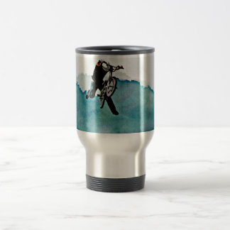 Freestyle BMX Bicycle Stunt Travel Mug