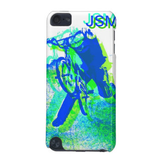 Freestyle BMX Rider in Cool Pop Art Style iPod Touch (5th Generation) Cases