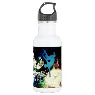 Freestyle Break Dance Graffiti 532 Ml Water Bottle