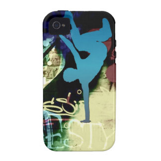 Freestyle Break Dance Graffiti iPhone 4 Cover