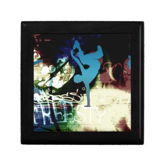 Freestyle Break Dance Graffiti Trinket Box