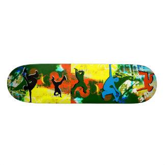 Freestyle Break Dance Graffiti  Hip Hop Skateboard