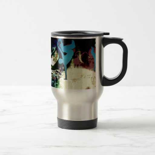 Freestyle Break Dance Graffiti Coffee Mugs