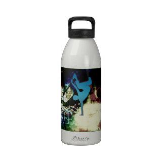 Freestyle Break Dance Graffiti Water Bottles