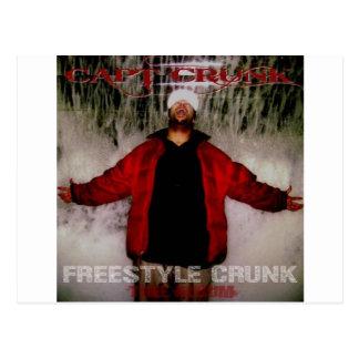 Freestyle Crunk Postcard