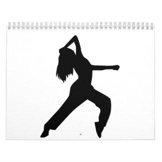 Freestyle dancing girl calendars