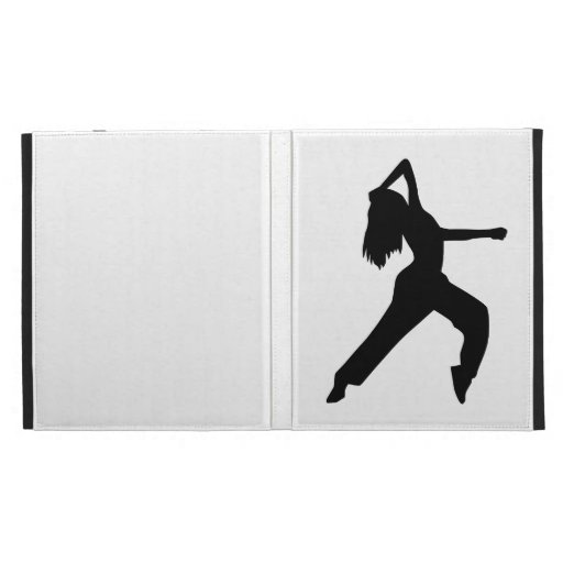 Freestyle dancing girl iPad folio covers
