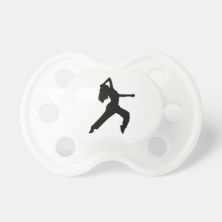 Freestyle dancing girl baby pacifiers