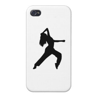 Freestyle dancing girl iPhone 4/4S covers