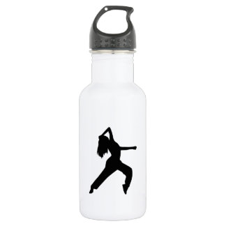 Freestyle dancing girl 532 ml water bottle
