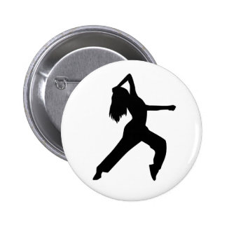 Freestyle dancing girl pins