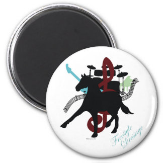 Freestyle Dressage magnet