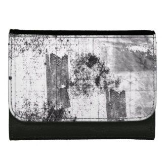 Freestyle In Black And White Black Medium Wallet