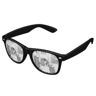 Freestyle In Black And White Sunglasses