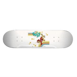 Freestyle Retro Skateboarder Skate Decks