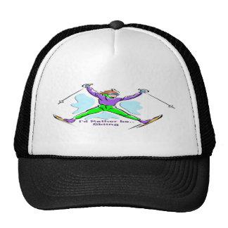 Freestyle Skier Cap