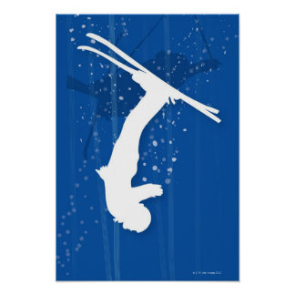 Freestyle Skier Poster