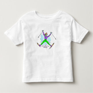 Freestyle Skier Toddler T-Shirt