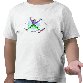 Freestyle Skier T-shirts