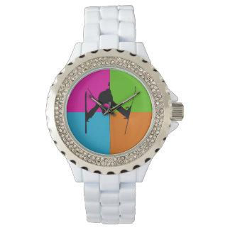 freestyle skiing wristwatch