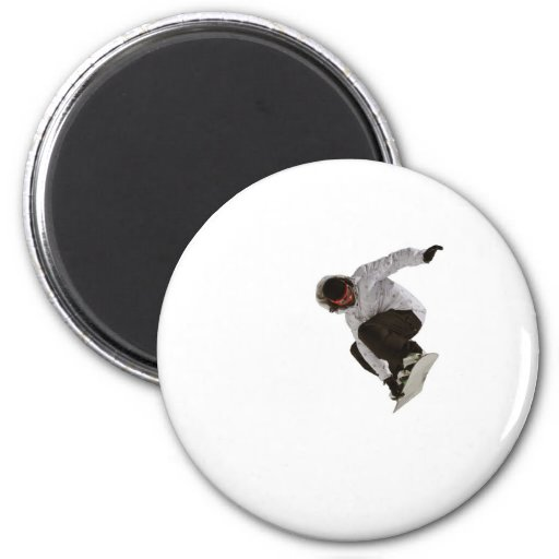 Freestyle snowboarder magnets