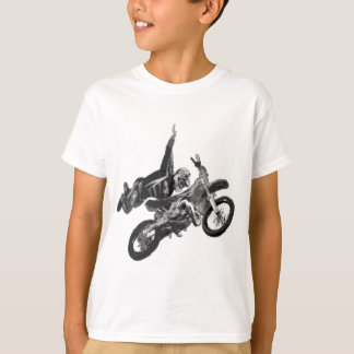Freestyling with dirt bike shirts