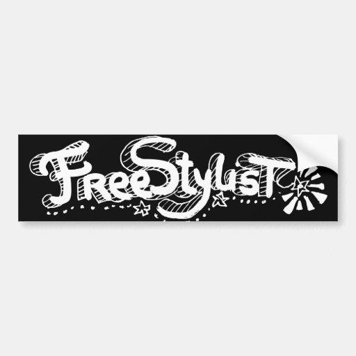 Freestylist 2 bumper sticker