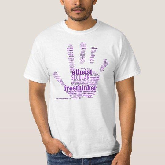 Freethinker/Atheist Hand Shirt