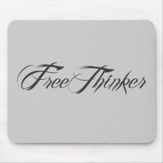Freethinker Script Mouse Pad