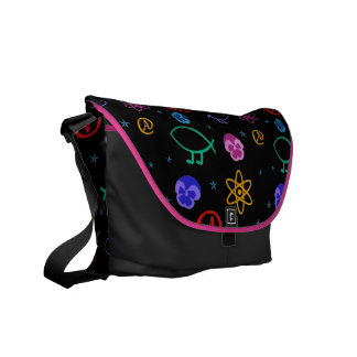Freethought Atheist Customizable Messenger Bag