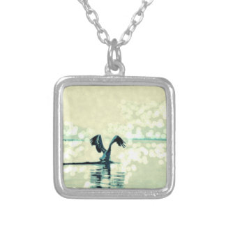 freetofly silver plated necklace