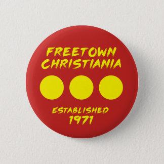 Freetown Christiania Denmark Button
