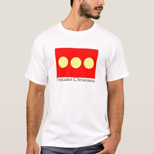Freetown Christiania Flag T-Shirt