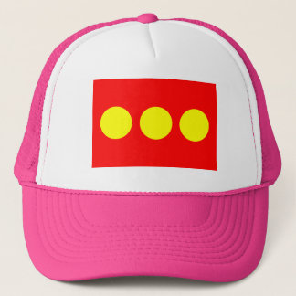 Freetown Christiania Flag Trucker Hat