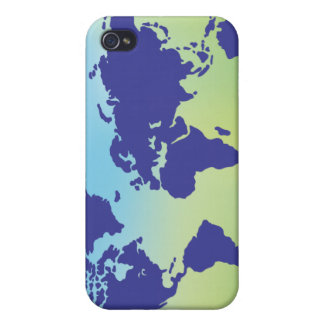 FreeVector-Earth-Vector ai digital art maps causes iPhone 4 Cover