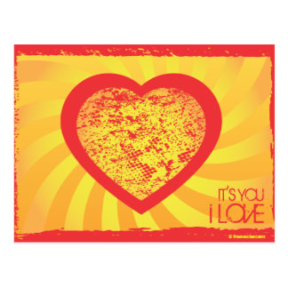 FreeVector-Grunge-Heart.ai Post Cards