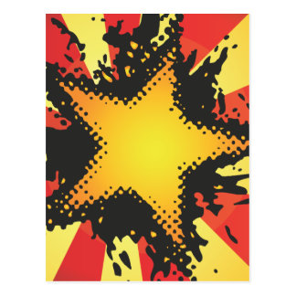 FreeVector-Grunge-Star.ai Postcards