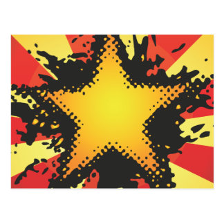 FreeVector-Grunge-Star.ai Post Cards
