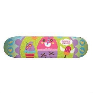 FreeVector-Ice-Cream-Cartoons cute kawaii graphics 20.6 Cm Skateboard Deck
