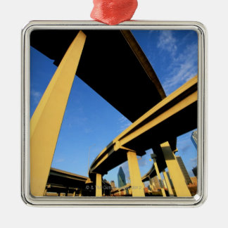 Freeway Overpass in Dallas Christmas Ornament