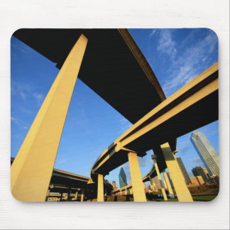 Freeway Overpass in Dallas Mouse Mat