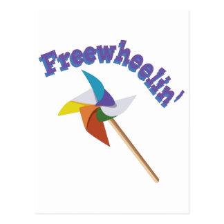 Freewheelin Postcard