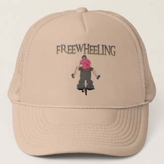 Freewheeling Cycling Trucker Hat