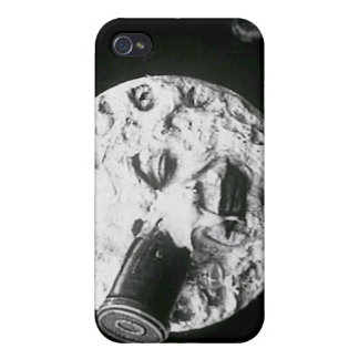 "Freeze Frame - ""Le Voyage Dans La Lune"" Case iPhone 4 Cases"