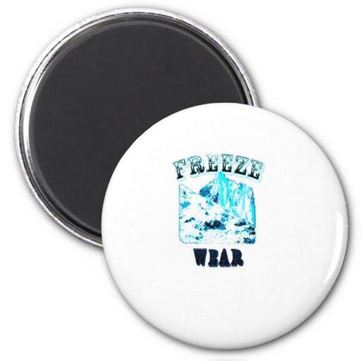 Freeze Wear Merchandise Refrigerator Magnets