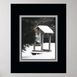 Freezing Lone Shelter Poster